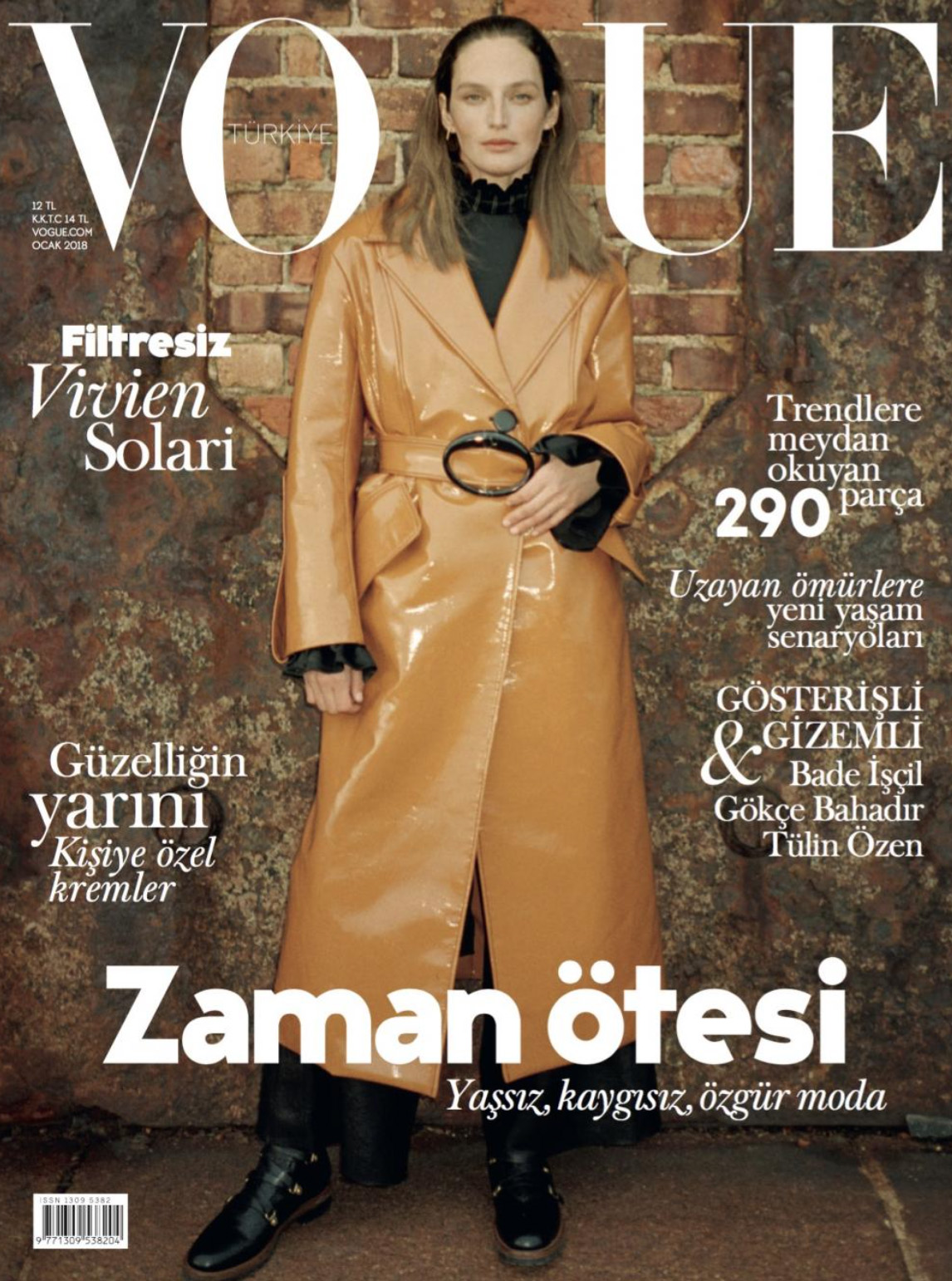 "Vogue Turkiye Magazine featuring ""Gabriel Et Guillaume"" - January 2018"