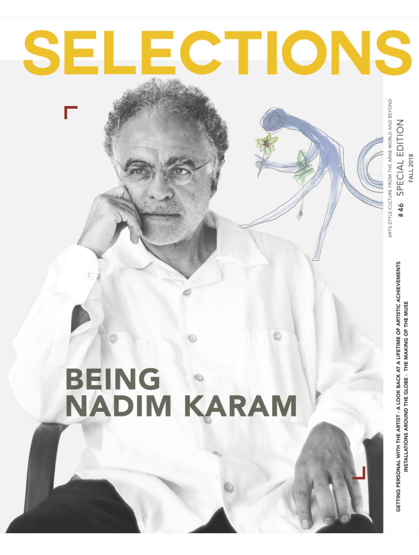 "Selections Magazine Beirut ""Being Nadim Karam"" - September 2018"