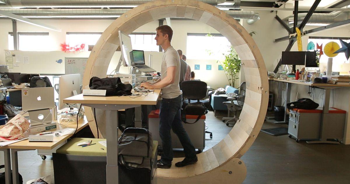 Human hamster wheel! Overkill?