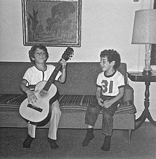 My first guitar - Commack New York, 1970