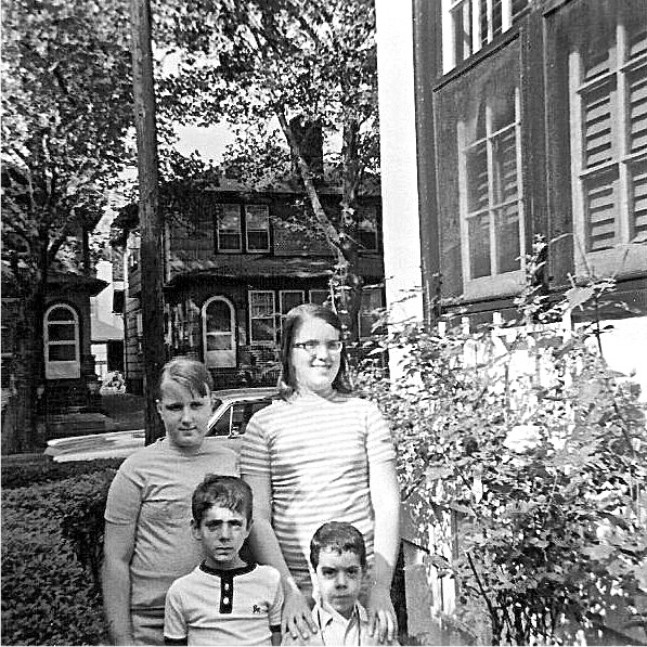 Me, My Brother + My Cousins Mary + Annie. Bay Ridge, Brooklyn 1968
