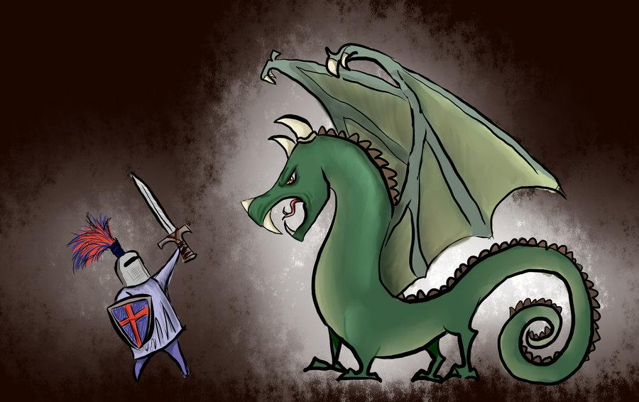 Knight vs. Dragon | Soure