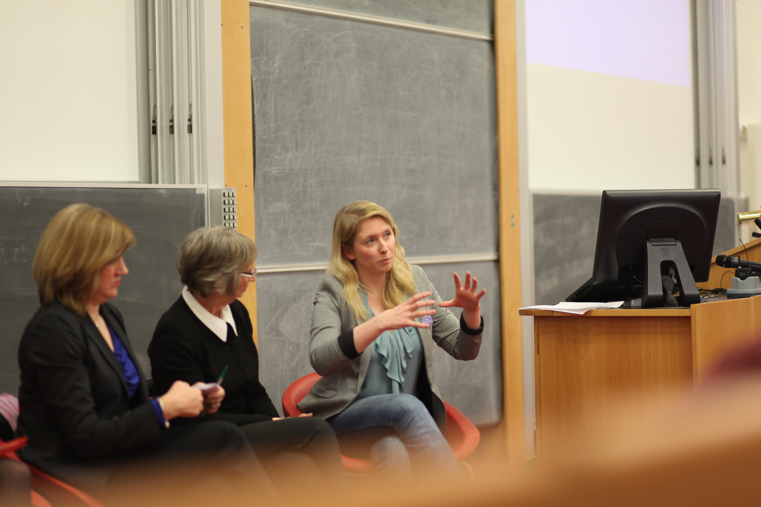 Panel Guest, International Womens' Day 2014, University of Edinburgh