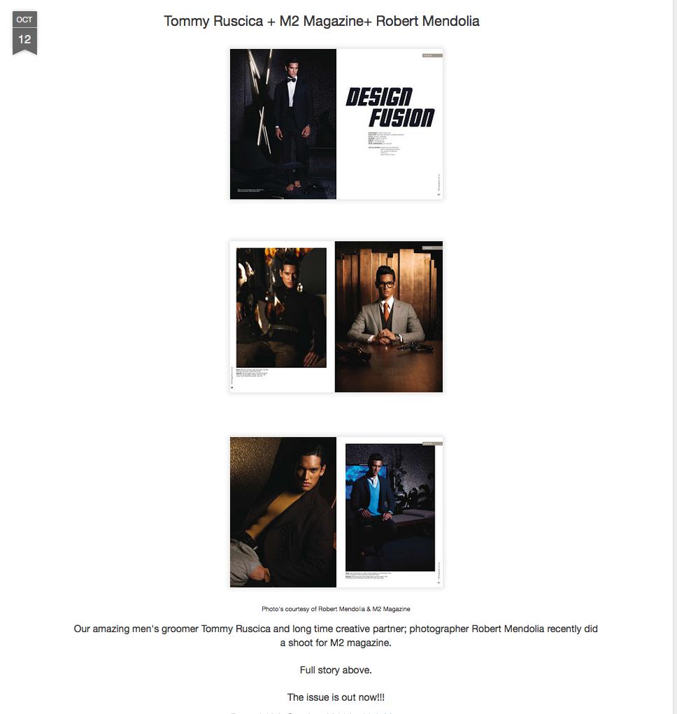 Designlush.com/Fashion shoot by Robert Mendolia