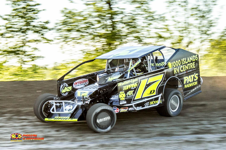 Danny O'Brien BOS Feature Race Winner May 27, 2017