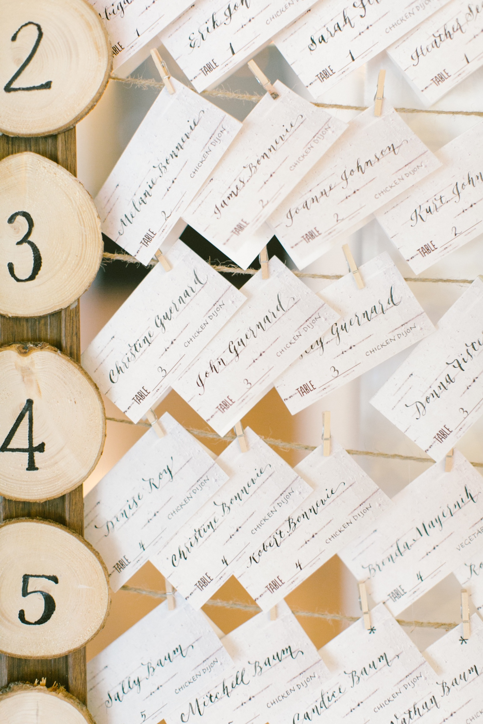 Place Cards in Modern