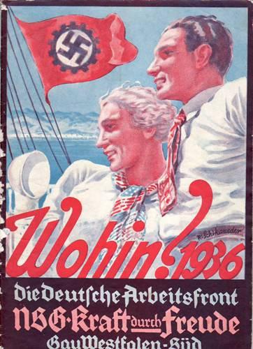 Propaganda del Frente Alemán de Trabajo
