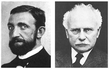 Philipp Lenard y Johannes Stark