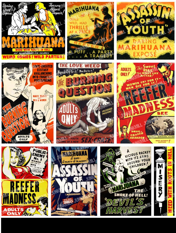 La anti-propaganda contra la marihuana