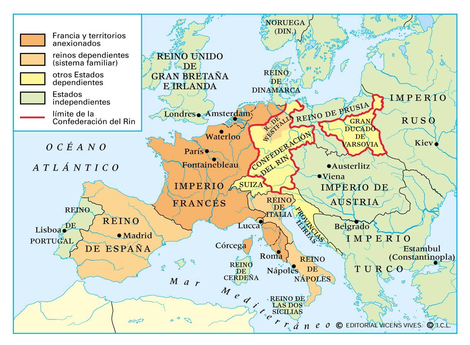 El Imperio Napoleónico (1804-1815)