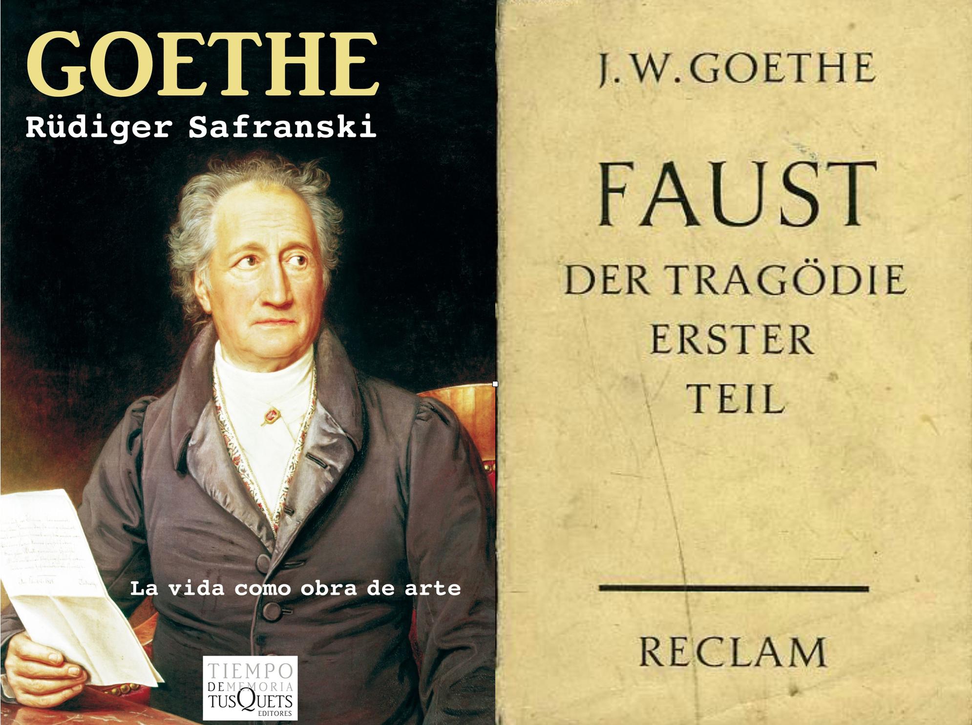 El multifascético Johann Wolfgang von Goethe es una figura gravitante dentro de la cultura alemana. Rüdiger ha escrito una excelente biografía del escritor (así como de Schiller, Schopenhauer, Nietsche y Heiddegger). Safranski llegó a decir en una entrevista que, en nuestros días, sólo un futbolista podría alcanzar la fama y celebridad que tuvo Goethe en su época