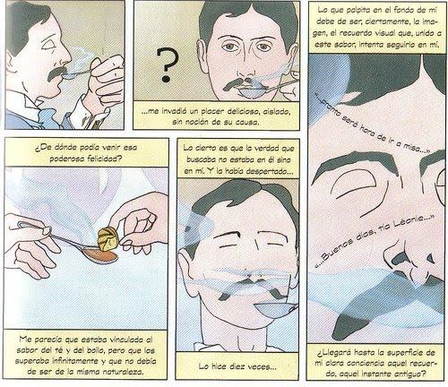 La escena de Marcel Proust