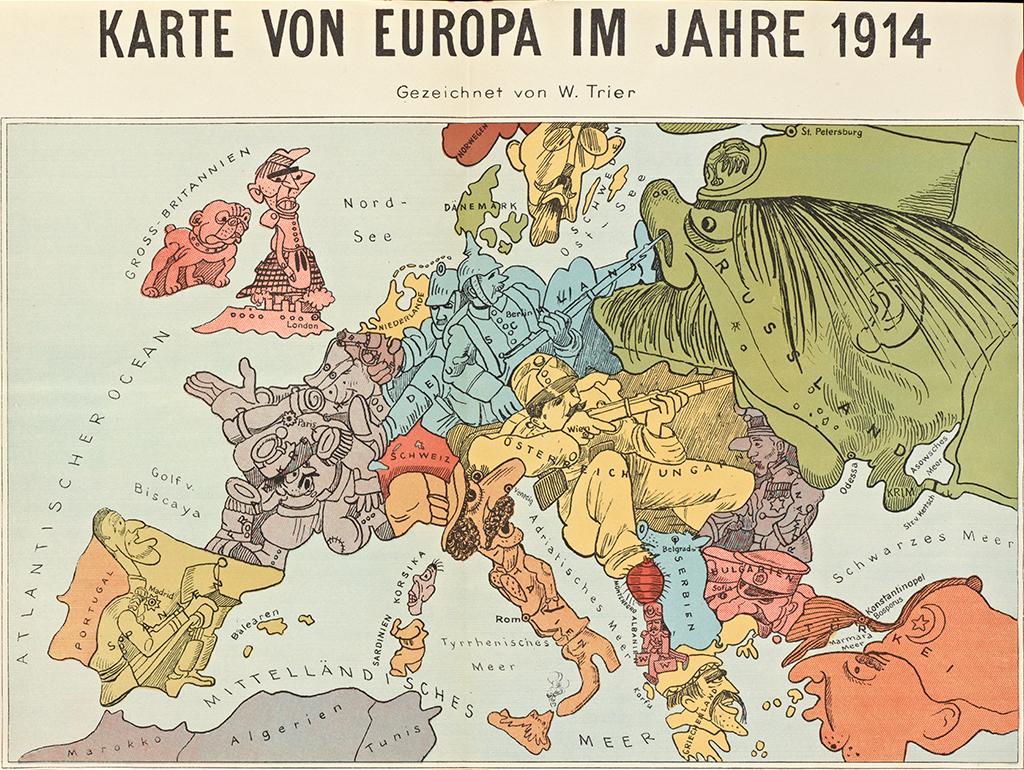 Europa: escenario de guerras imperialistas y nacionalistas