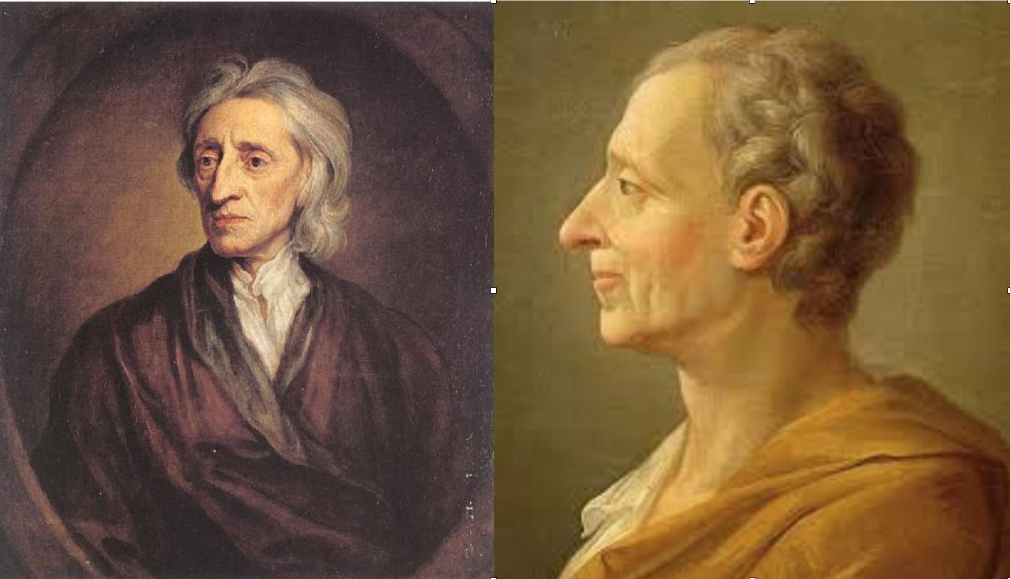 Locke y Montesquieu