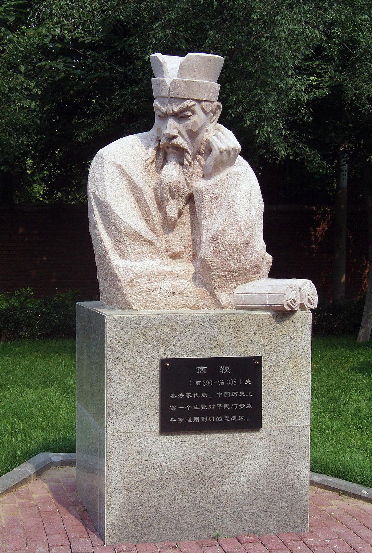 El reformador legalista Shang Yang