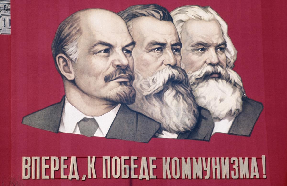 Nace el leninismo, Lenin es erigido a las alturas junto a los demás profetas: Engels y Marx
