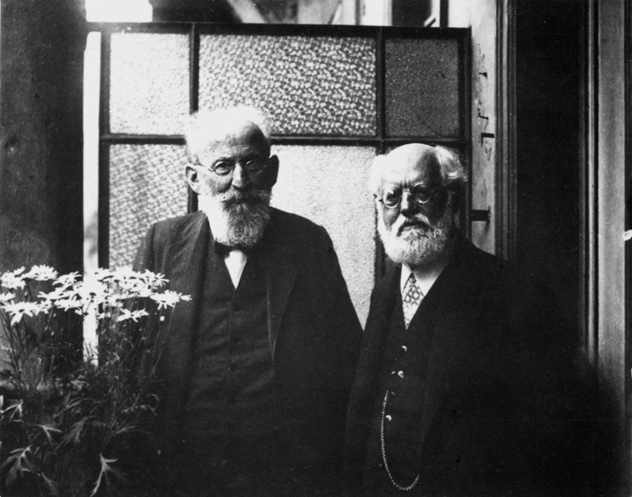 Bernstein y Kautsky (1910)