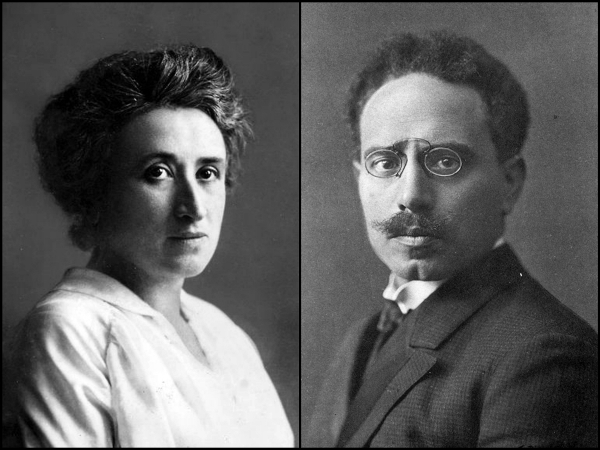 Rosa Luxemburgo Y Karl Liebknecht