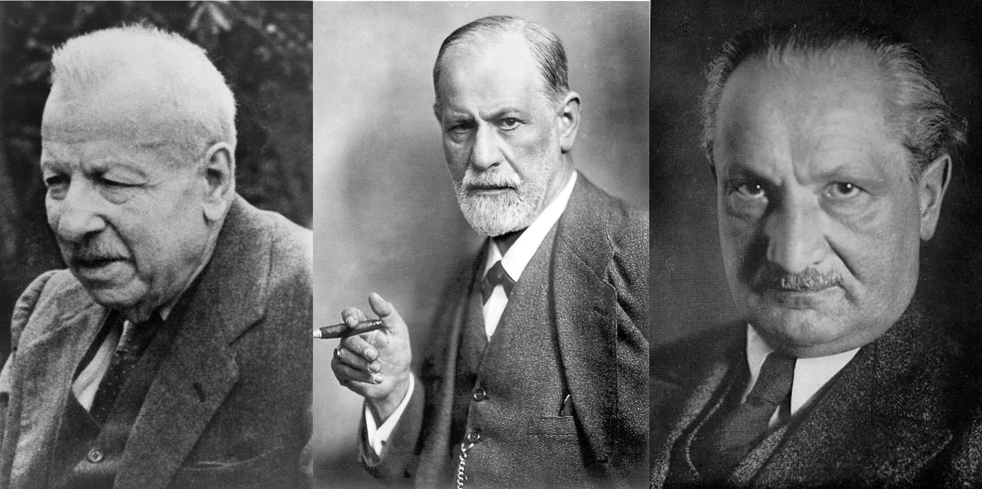 Croce, Freud y Heidegger