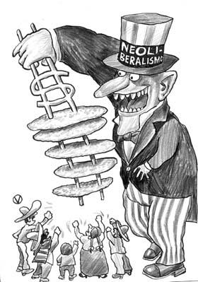 Neoliberalismo: el nuevo mantra y chivo expiatorio e la izquierda
