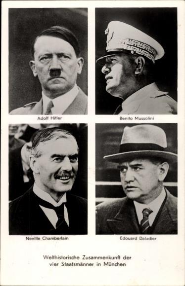 Los protagonistas de la Conferencia en Munich