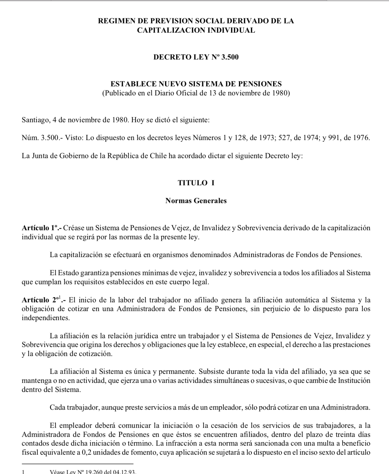 Decreto Ley 3.500