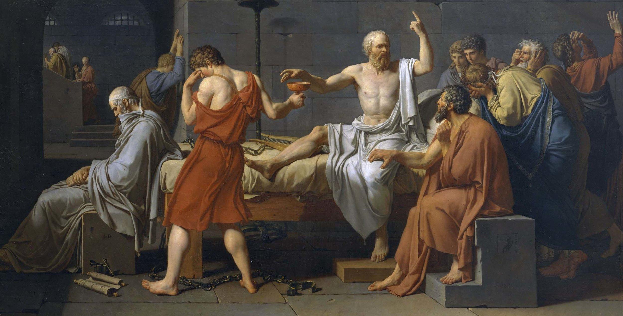 ¿Por qué Sócrates no temido morir en nombre de la verdad y a justicia?