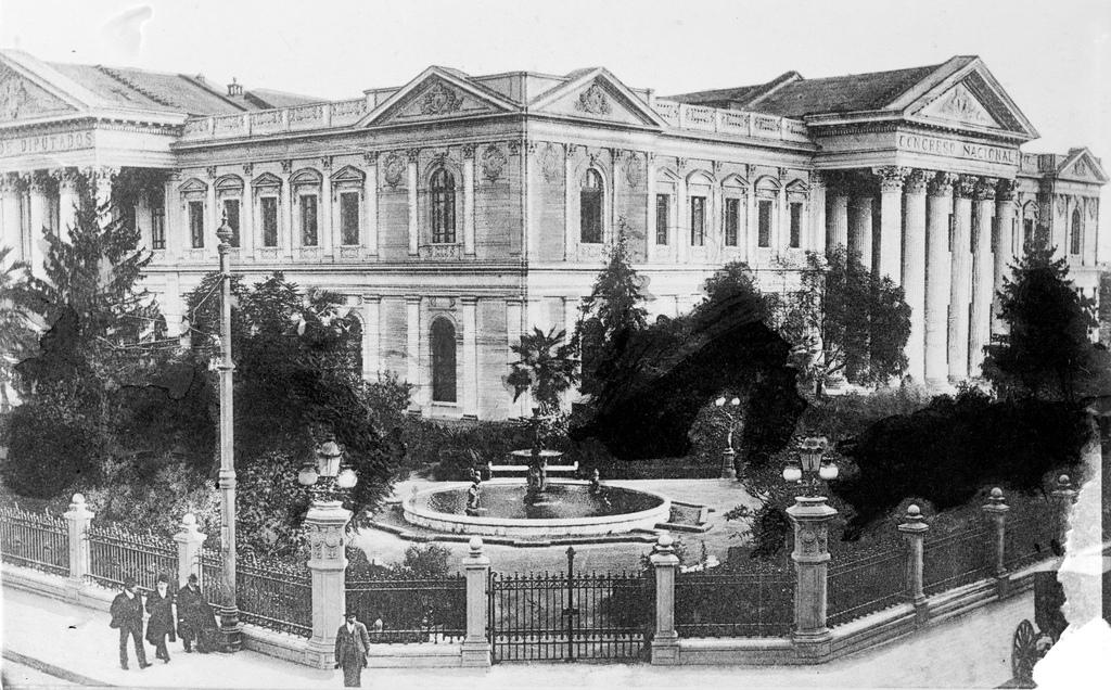 Ex Congreso Nacional ubicado en Compañía de Jesús 1130