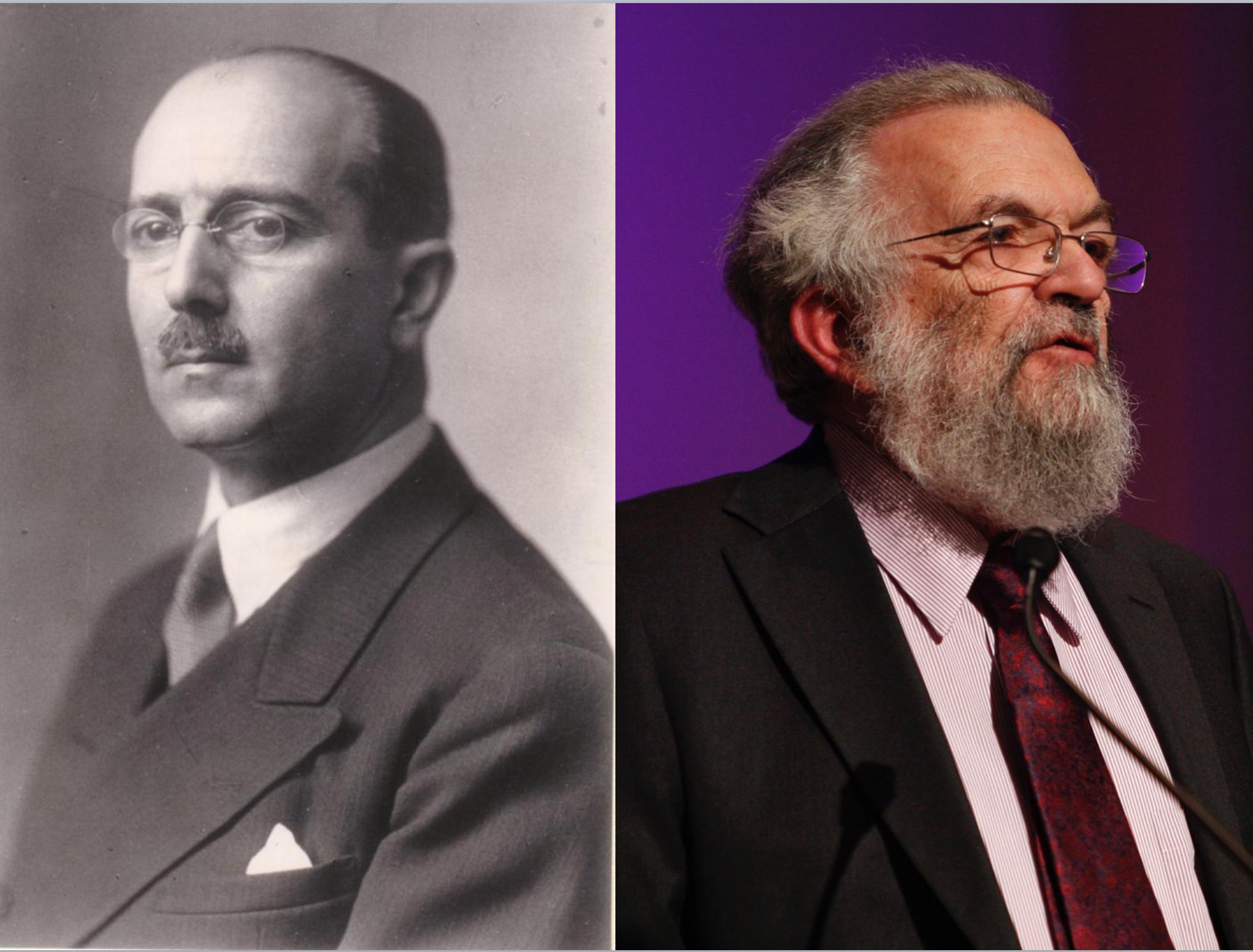 Hans Kelsen (1881-1973) y Joseph Raz