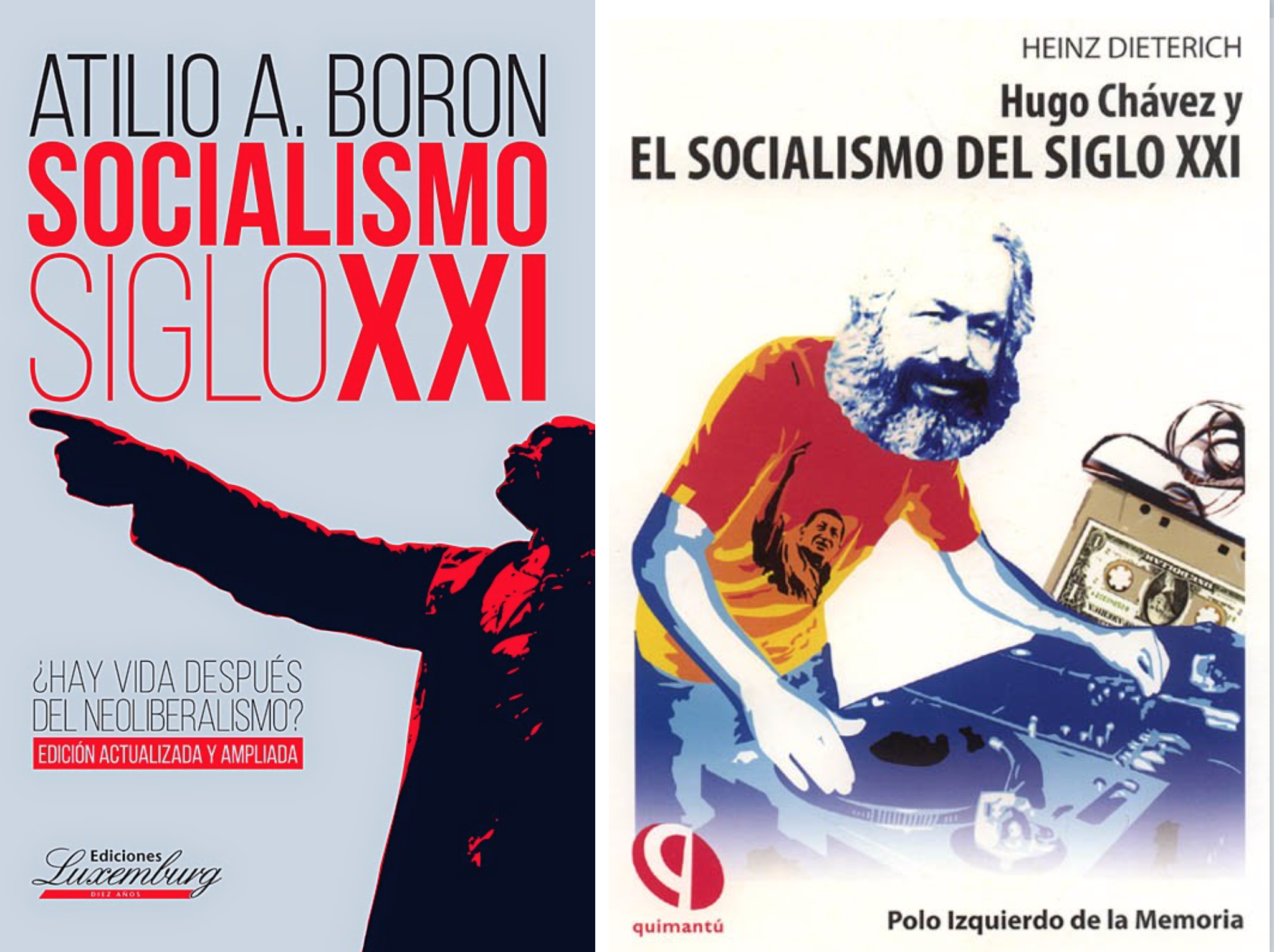 Heinz Dieterich, uno d los principales ideólogos del chavismo, ya se distanció del régimen venezolano y el sociólogo argentino, Atilio barón, sigue preso de los delirios paranoicos sobre una conspiración contra Maduro.