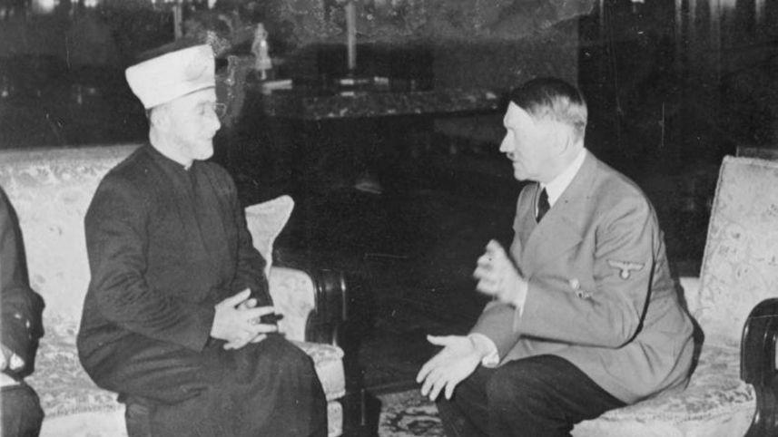 El gran Mufti Amin Al Husseini con Hitler