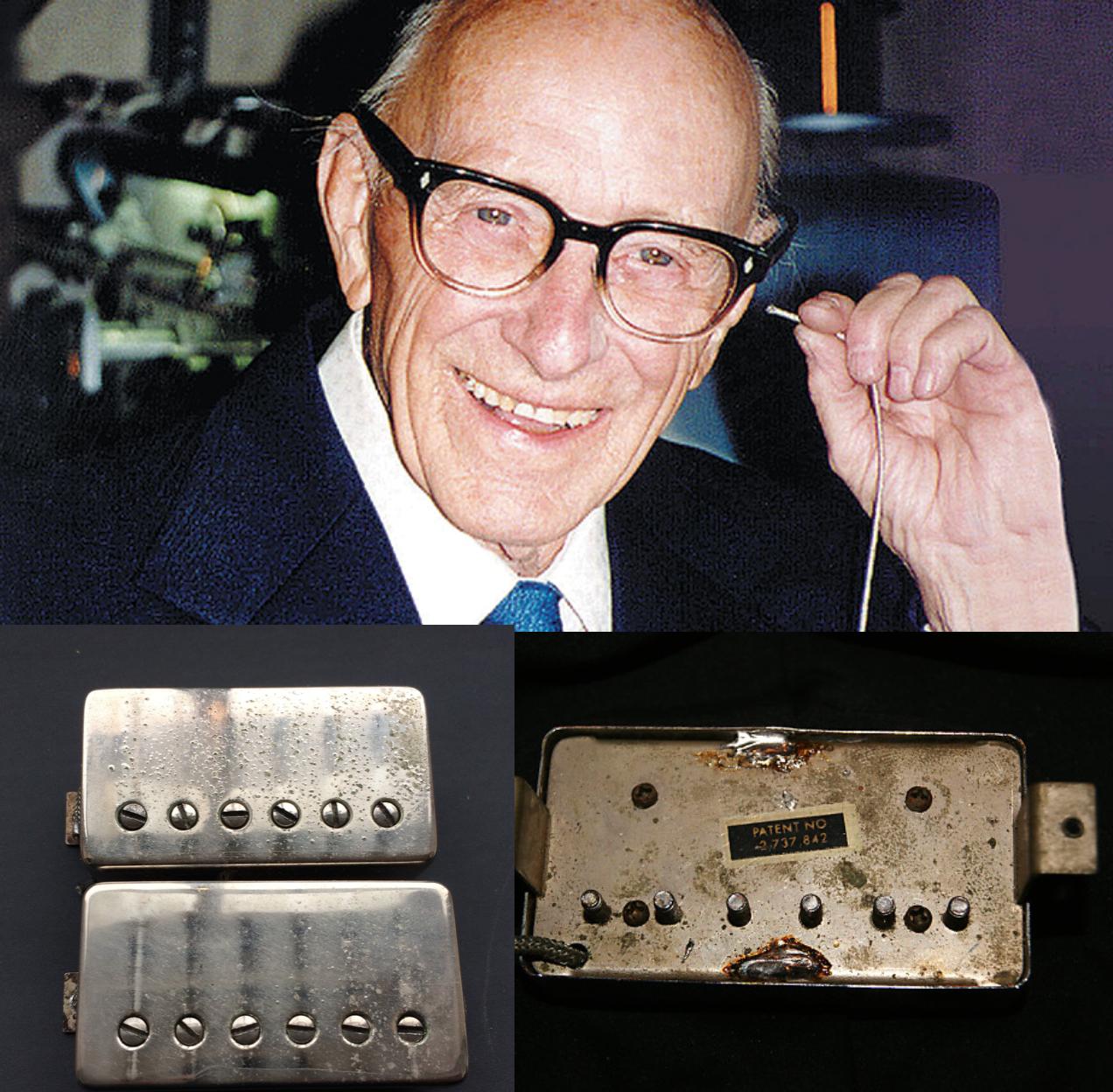 Seth Lover y unas PAF de 1959 y en la otro foto la patente.