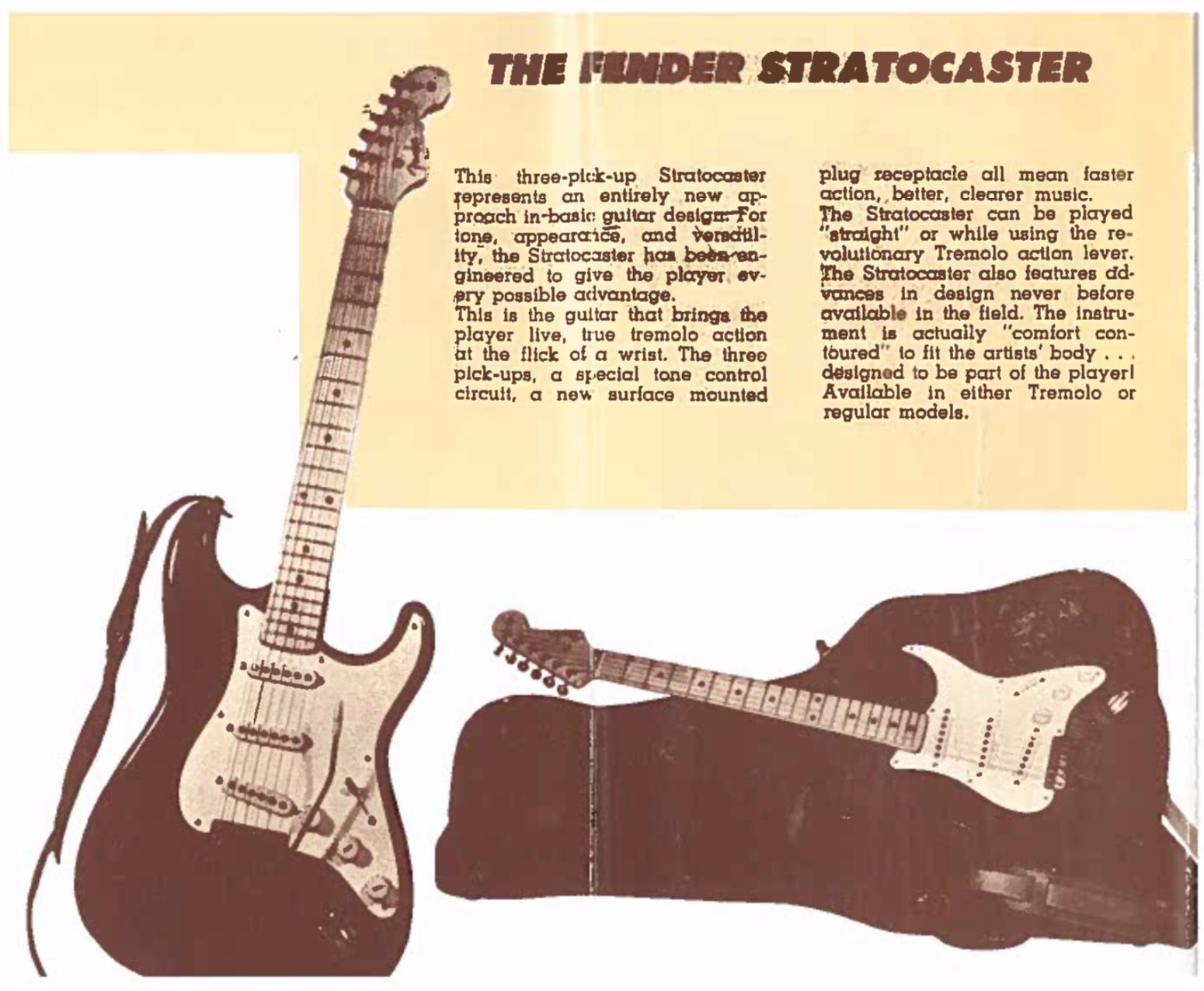 Catálogo Fender (1954)