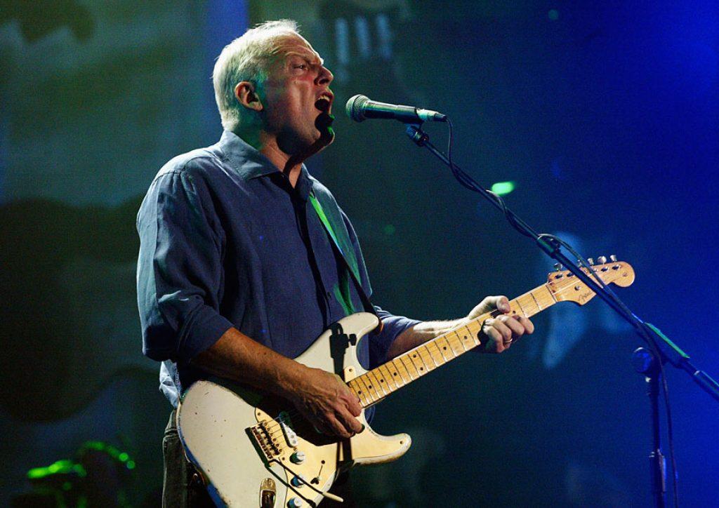 David Gilmour con la 0001