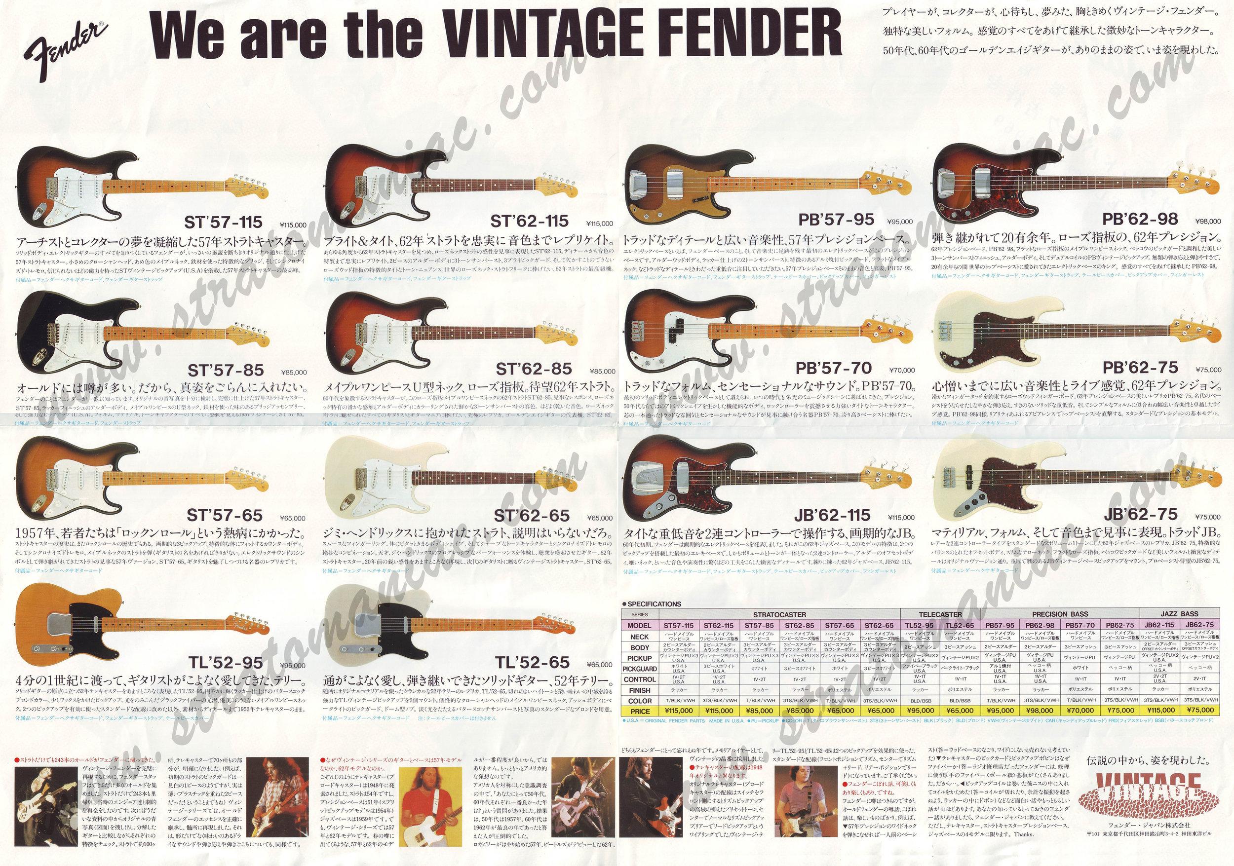 Catálogo de 1982 (obtenido de https://stratomaniac.com)