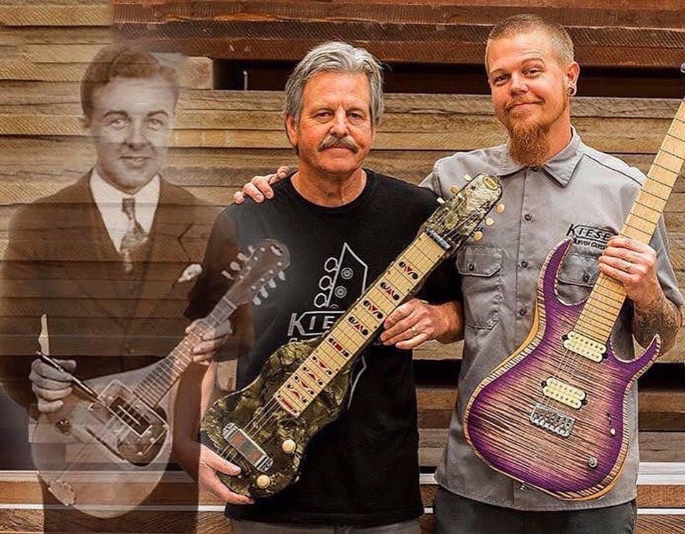 Lowell C. Kiesel, Mark Kiesel y Jeff Kiesel (obtenido de la paginada Facebook de Kiesel)