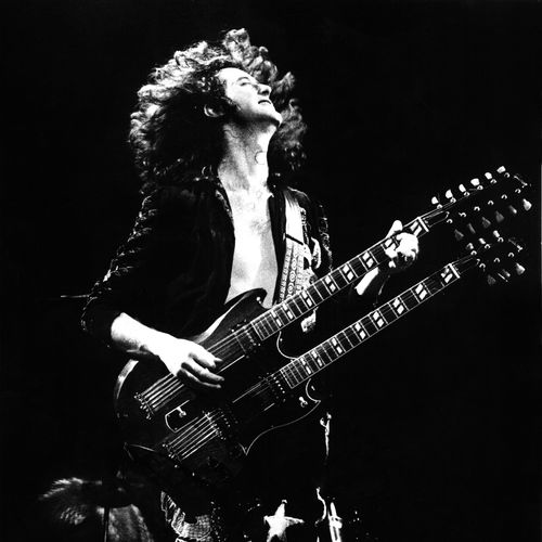 Jimmy Page con su Gibson SG