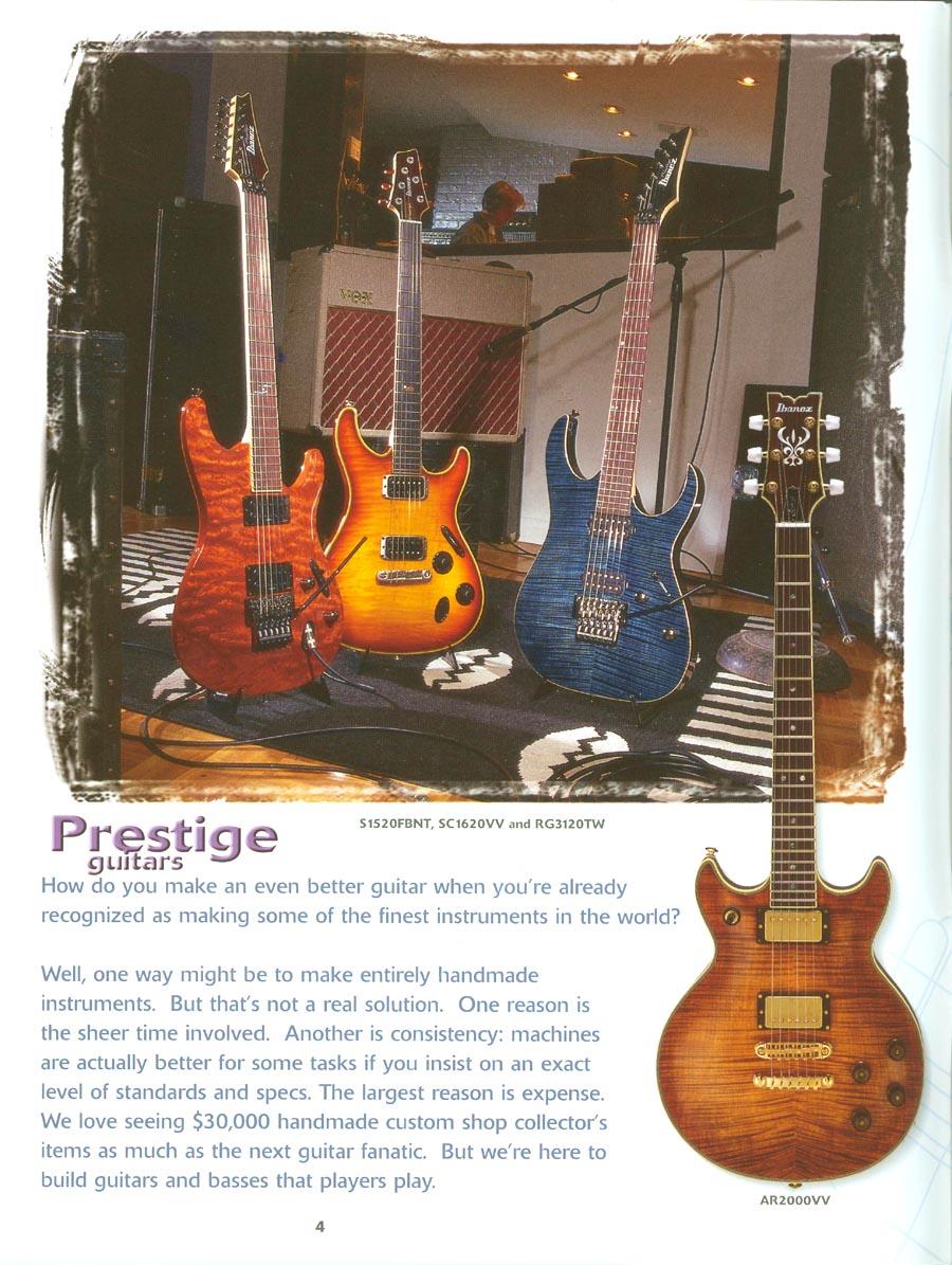 Catálogo de 1999