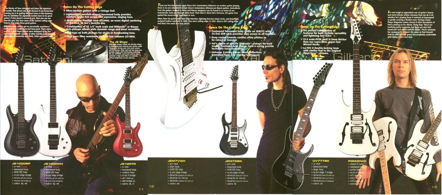 Catálogo 2001