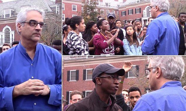 Nicholas Christakis fue rodeado por una prepotente y agresiva turba de estudiantes con los cuales fue imposible el diálogo
