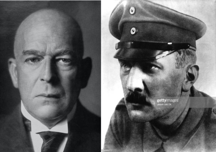 Oswald Spengler y Arthur Moeller van den Bruck