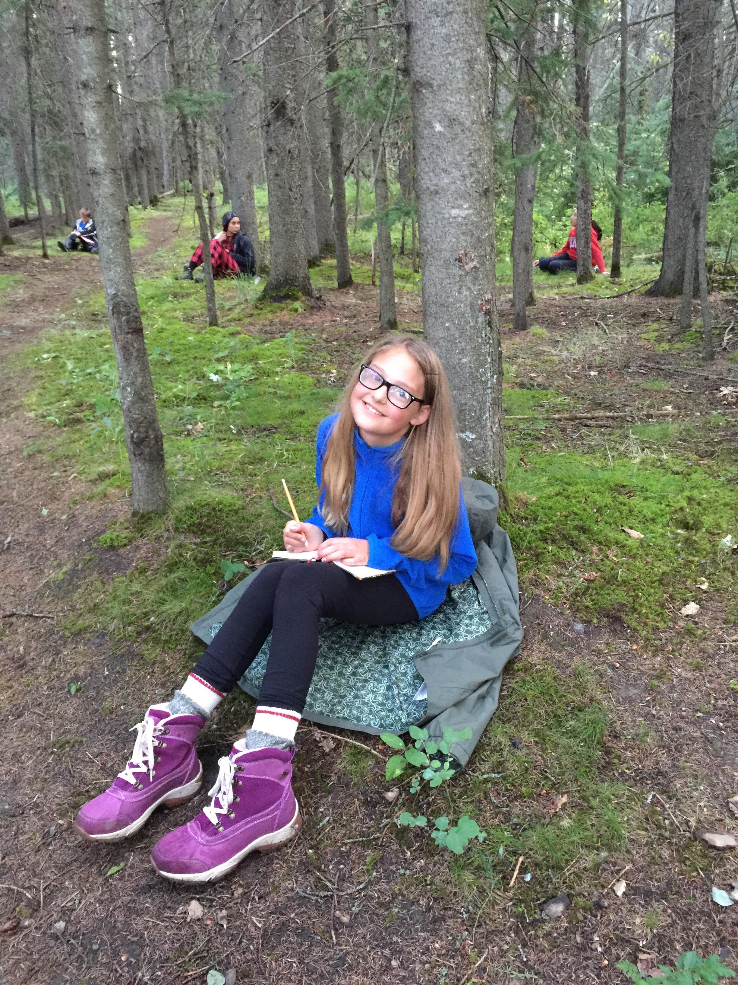 2015 Magic Spot at school; Camp Sweet!