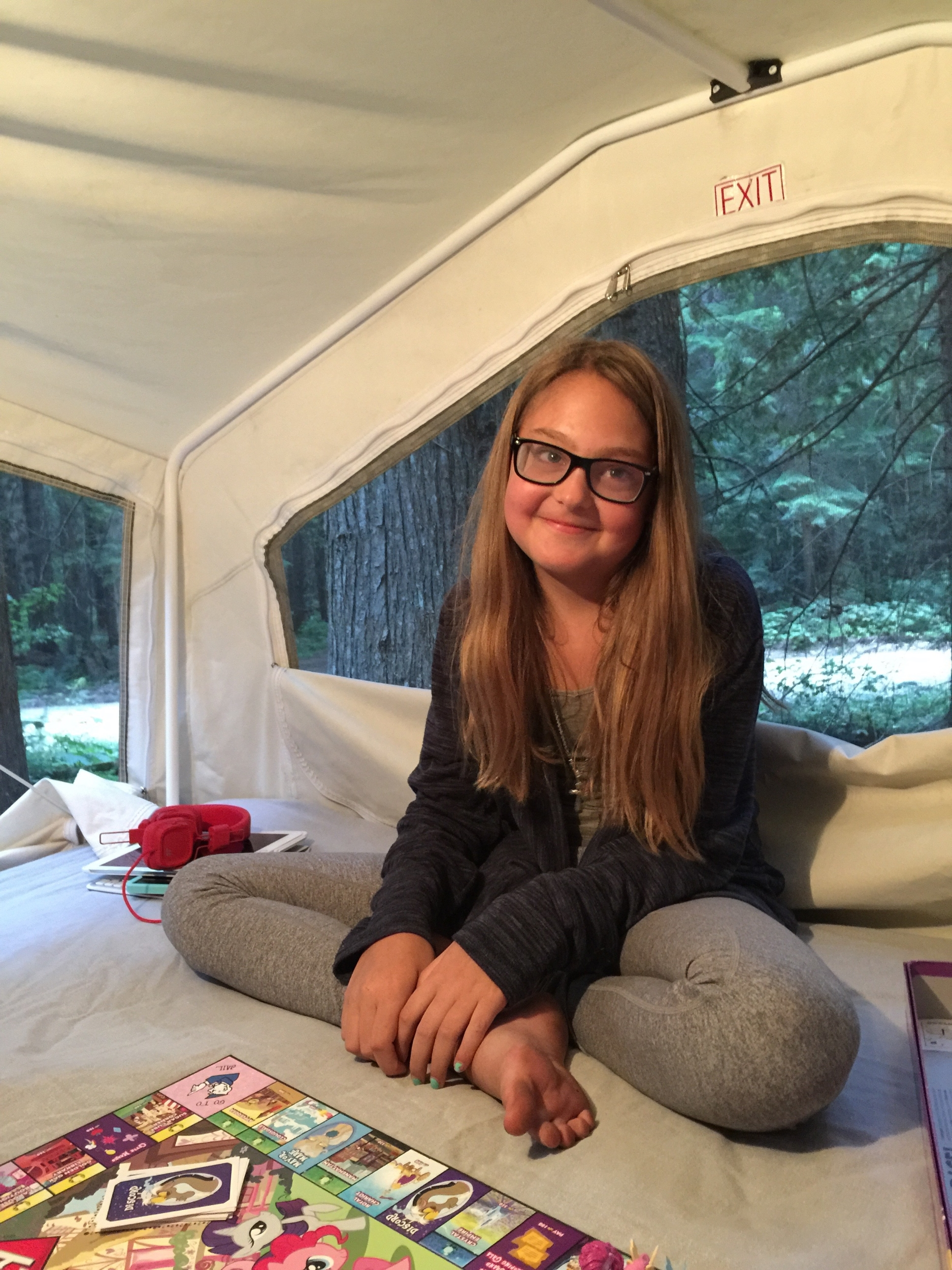 Family camping trip summer 2015