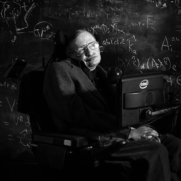my goal is simple. it is a complete understanding of the universe, why it is as it is and why it exists at all. #stephenhawking #thisiswhatheroeslooklike