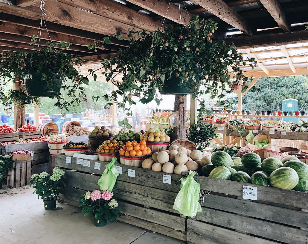 produce at garden valley farmers market