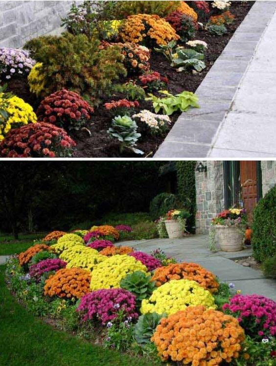 Our Favorite Fall Front Porch And Landscape Designs Garden