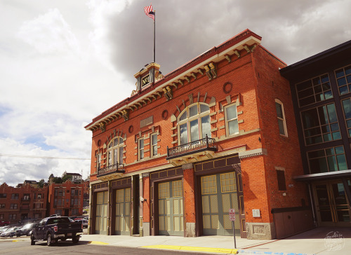 The old Butte Firehouse