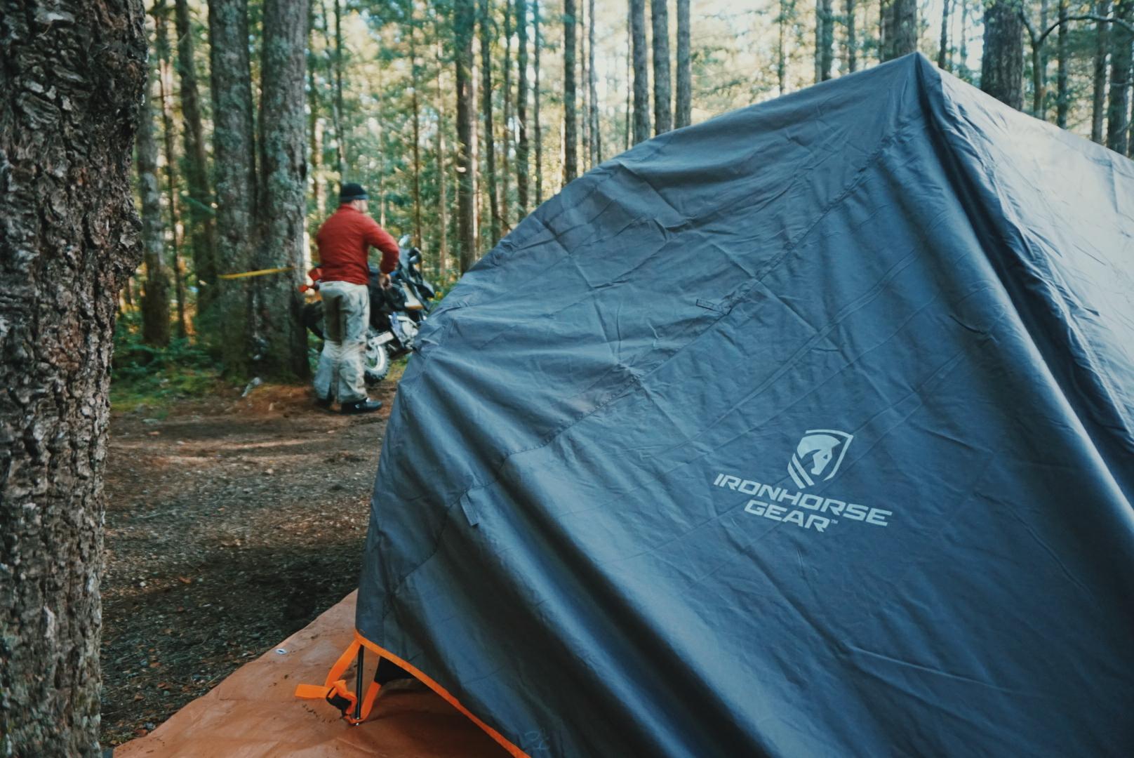 Maiden voyage for my Ironhorse Gear 2+ Tent