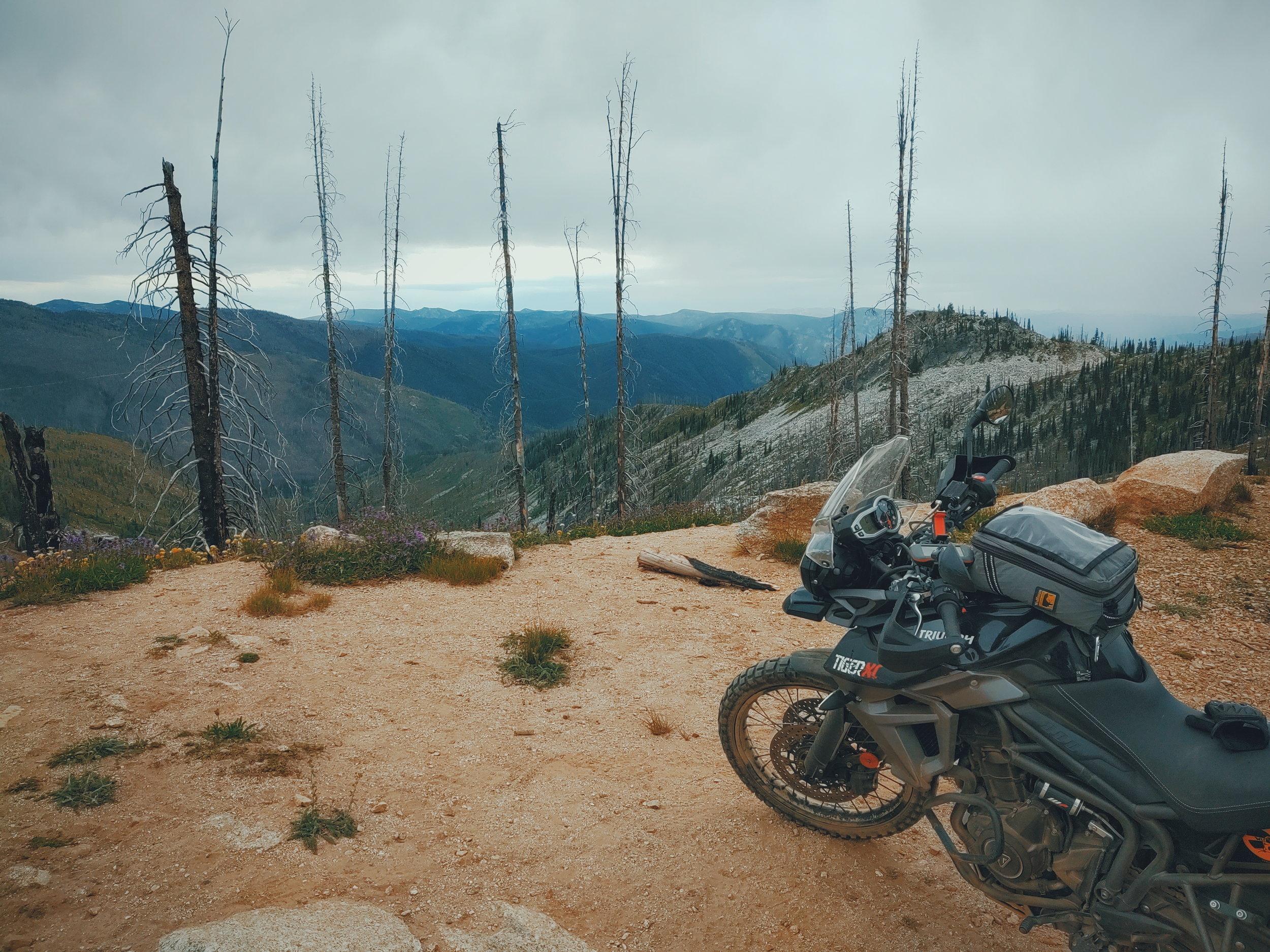 At the top of Magruder Corridor, Idaho