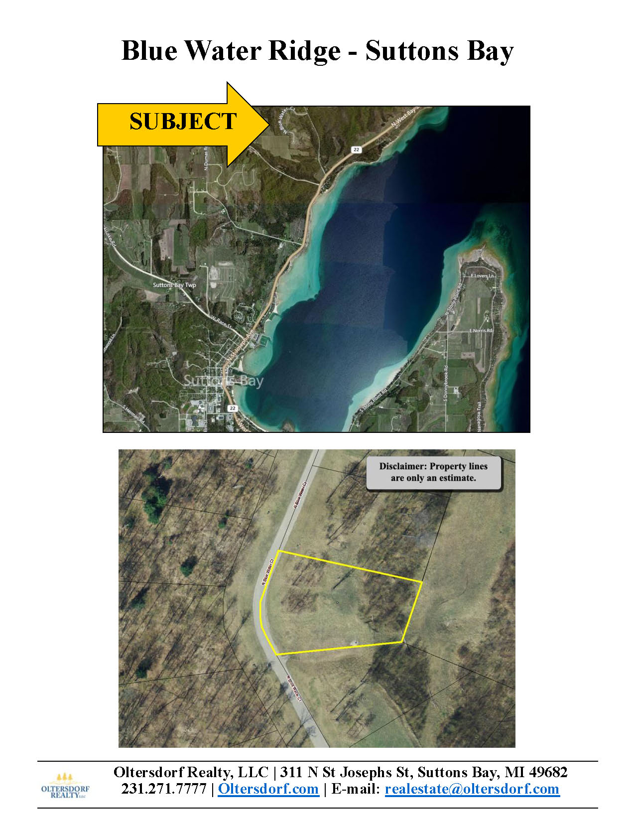1930 N Blue Water Ct, Suttons Bay, Leelanau County, Vacant Waterview Lot For Sale By Oltersdorf Realty LLC - Marketing Packet (4).jpg